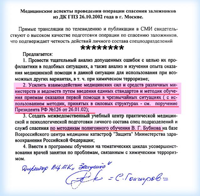 Резолюция Президента
